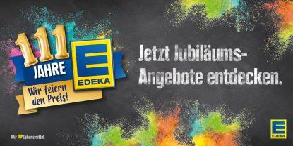 111 Jahre Edeka!